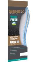 SEAX vložky do topánok White Fresh