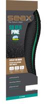 SEAX vložky do topánok Silver Pine