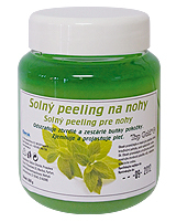 TG Soľný peeling na nohy 550g