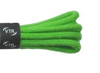 Šnúrky bavlnené guľaté hrubé 90 cm zelená