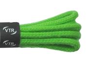 Šnúrky bavlnené guľaté tenké 80 cm zelená