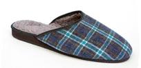 Papuče s kožušinkou pánske 7-20102