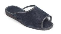 Manžestrové papuče pánske s otvorenou špičkou 7-20086