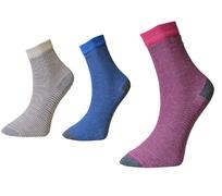 Art. 10 Klasické dámske ponožky Prúžky Knebl Hosiery