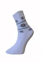 Art. 17 Dámske zimné termo ponožky Nórsko Knebl Hosiery