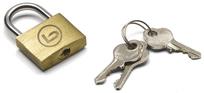 BZ 1006 zámok na kufor na kľúčik