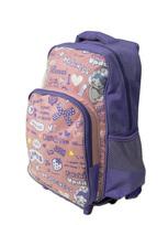 BZ 3602 batoh na kolieskach detský violet