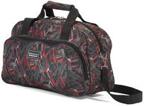 BZ 4232 športová taška red-grey