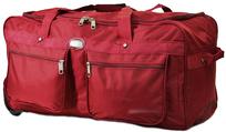 BZ 4152 cestovná taška na kolieskach red
