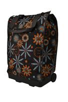 BZ 4425 nákupná taška na kolieskach brown