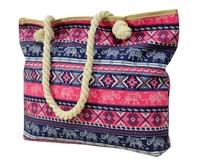 BZ 4807 plážová taška blue-pink