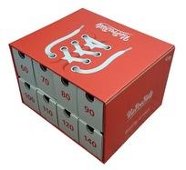 Box na tkaničky červený - pôžička