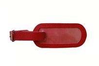 Menovka na kufor kožená červená