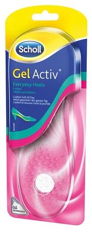 SCHOLL GelActiv Everyday Heels Gélové vložky do topánok s podpätkom
