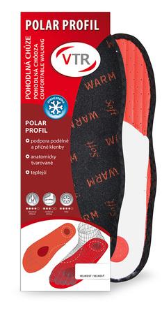 VTR Polar profil anatomické zimné vložky