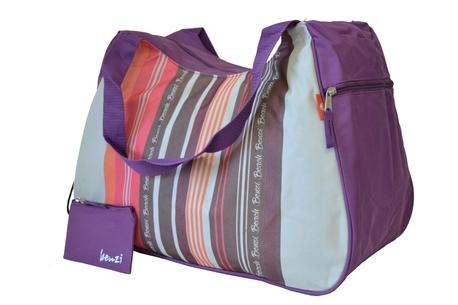 BZ 4466 plážová taška violet