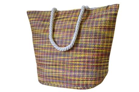 BZ 5019 plážová taška yellow-brown