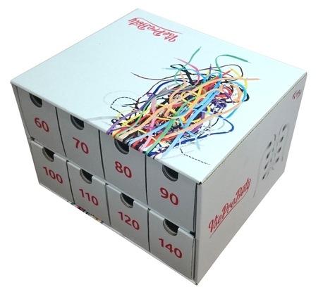 Box na tkaničky bílý - zápůjčka